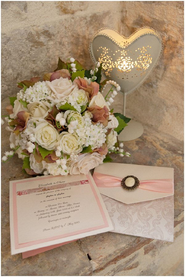 pastel wedding stationery