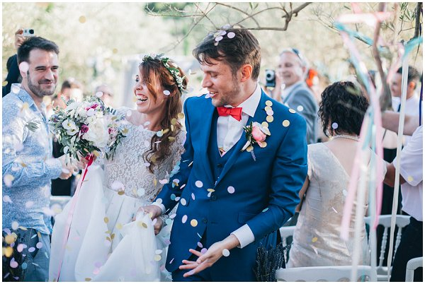 quirky wedding in Provence