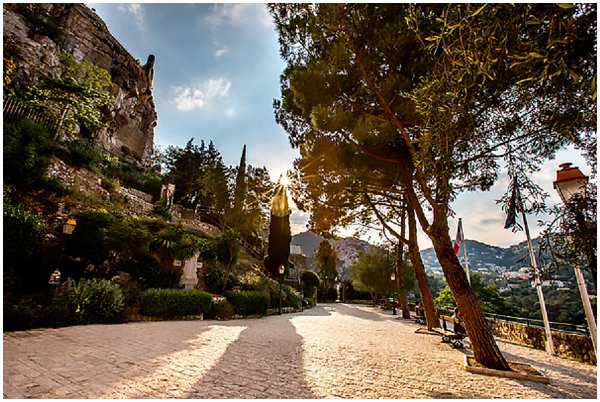 streets of Eze village