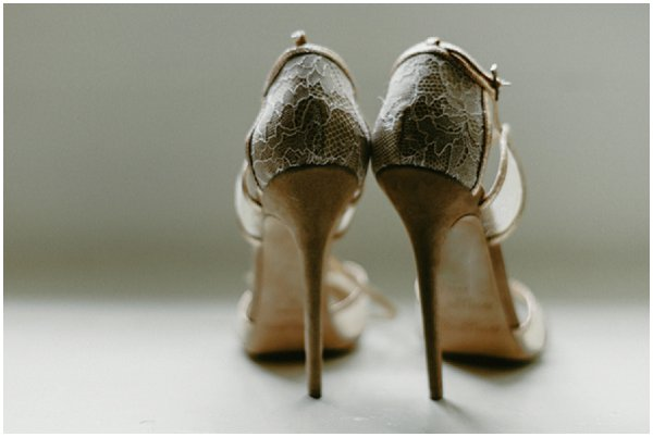 vintage bridal jimmy choos