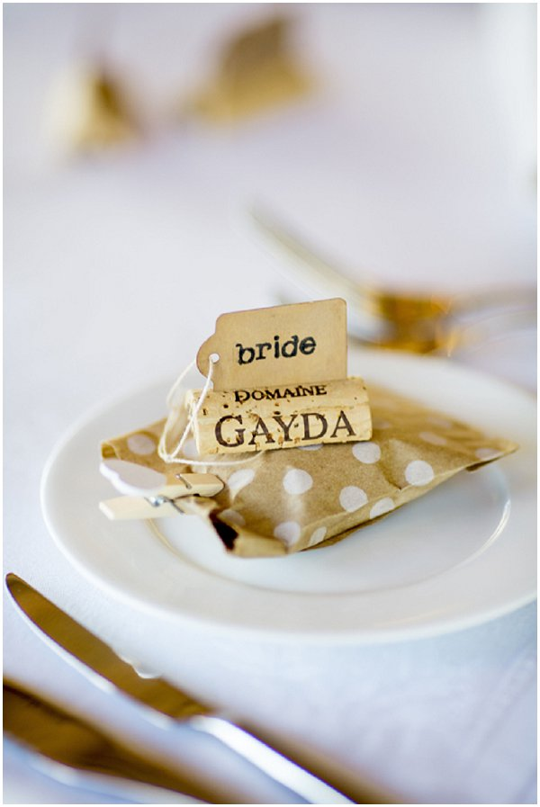 wedding at Domaine Gayda