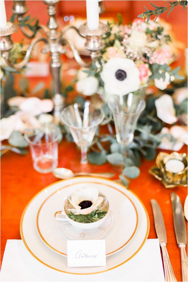 white gold and green wedding