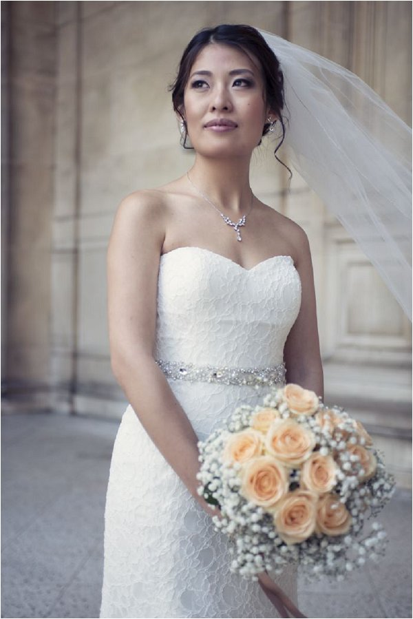 Bridal photo session in Paris