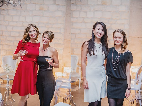 French Wedding Style guests