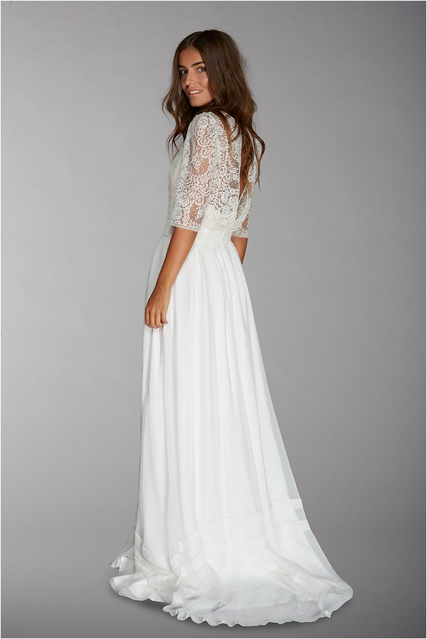 French lace bridal wear