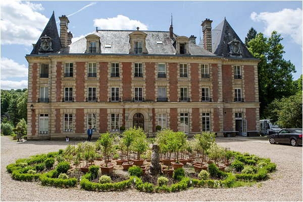 French romantic wedding chateau