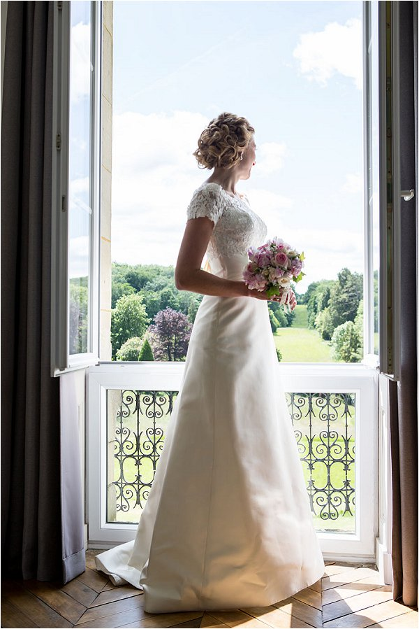 Pronovias bride in France