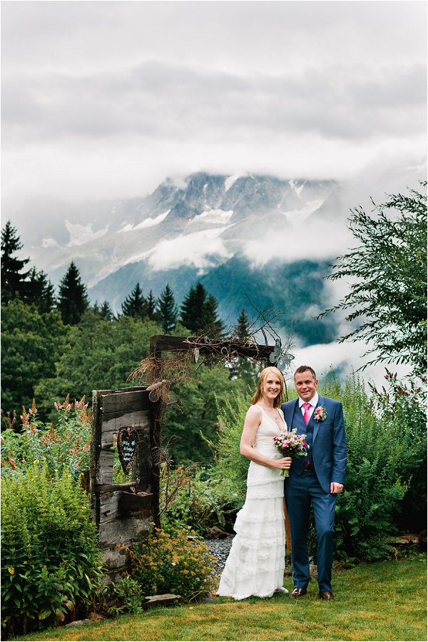 Real Wedding in Chamonix