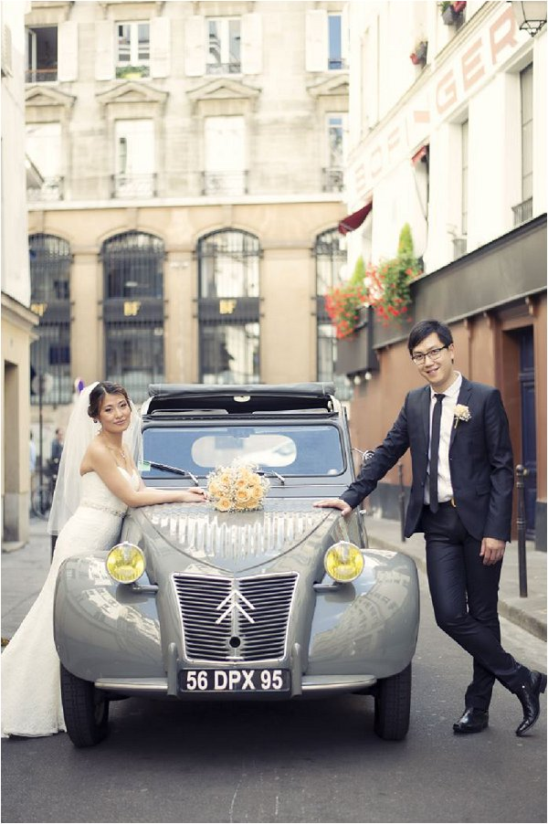 Romantic Elopement in City