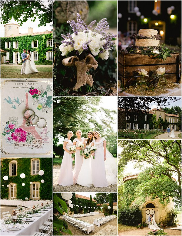 Rustic French Weddings