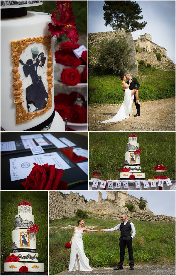 Tango Wedding Inspiration Snapshot