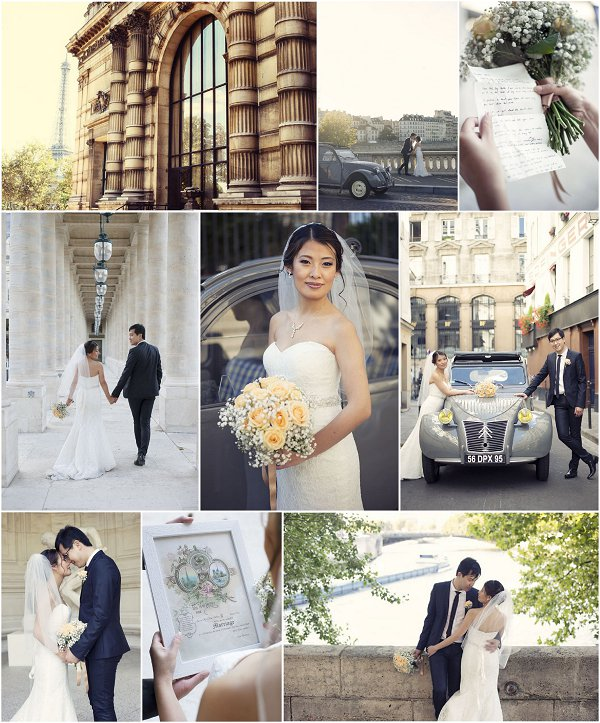 Timeless Romantic Elopement in City of Love Snapshot