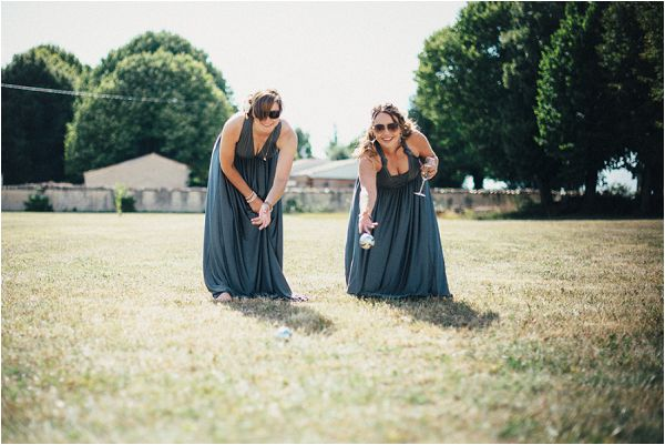 boules at weddings