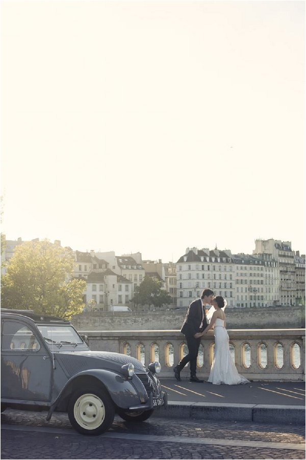 timeless romantic elopement in city of love