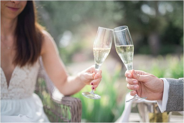 intimate wedding in Provence