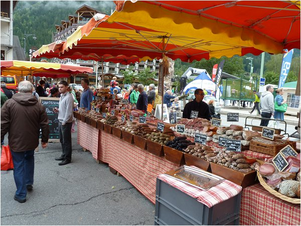 markets in Chamonix