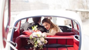 vintage wedding cars Paris