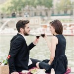 Anniversary picnic in Paris