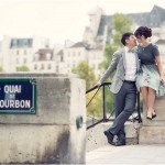 Beijing couple in Paris