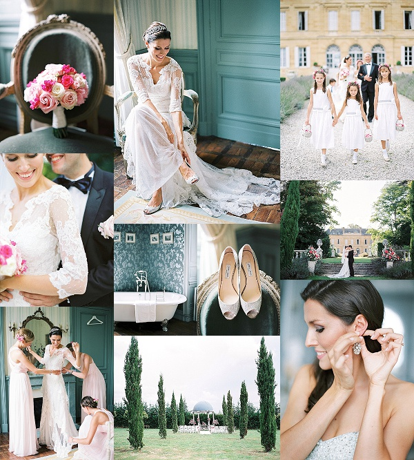 Chateau La Durantie Dordogne Wedding by Peaches & Mint Snapshot
