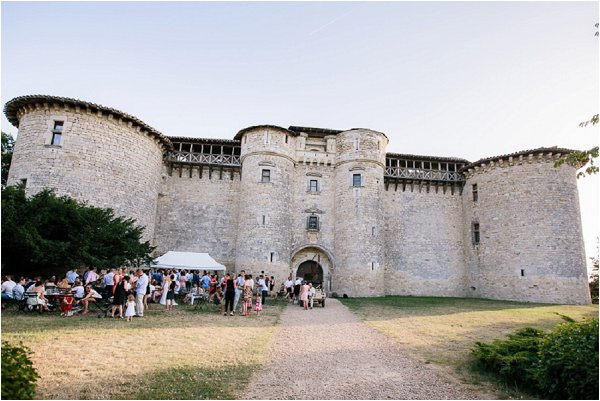 Chateau de Mauriac wedding venue in Senouillac in the Tarn region