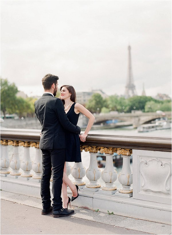 Chic Parisian anniversary Session