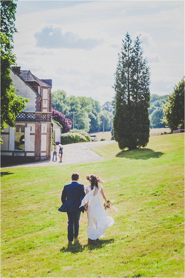 Dreamy Homemade Destination Wedding in Normandy