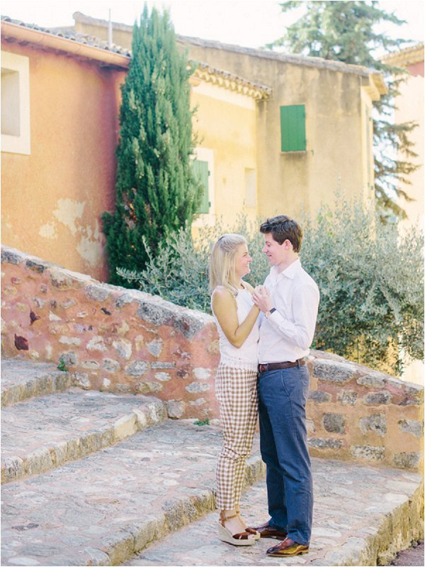 Engagement Session in South of France