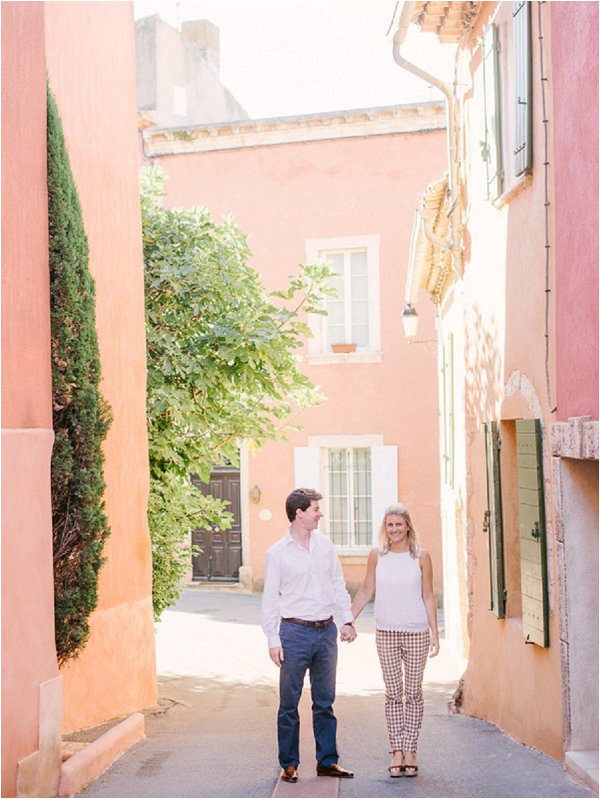 Engagement photo session South France