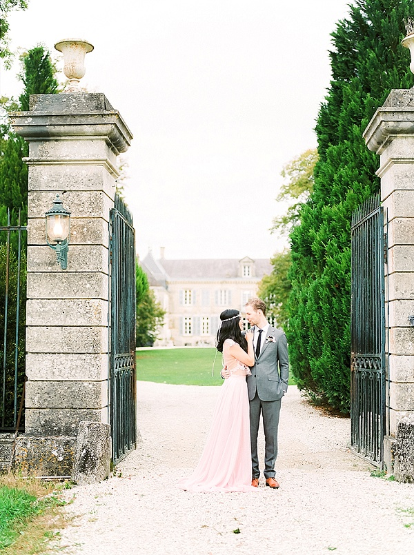 French chateau inspired wedding