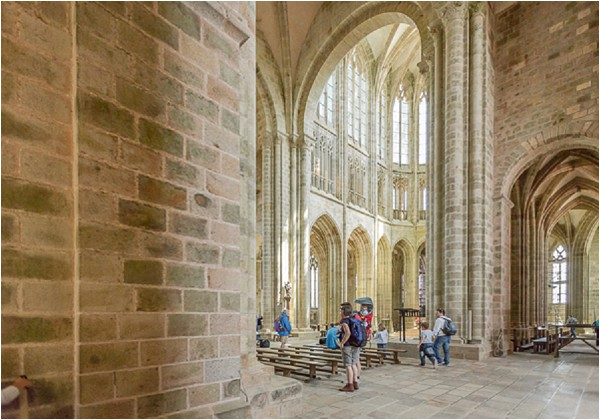 Mont St Michel Abbey