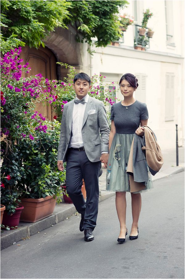 Paris pre-wedding portraits