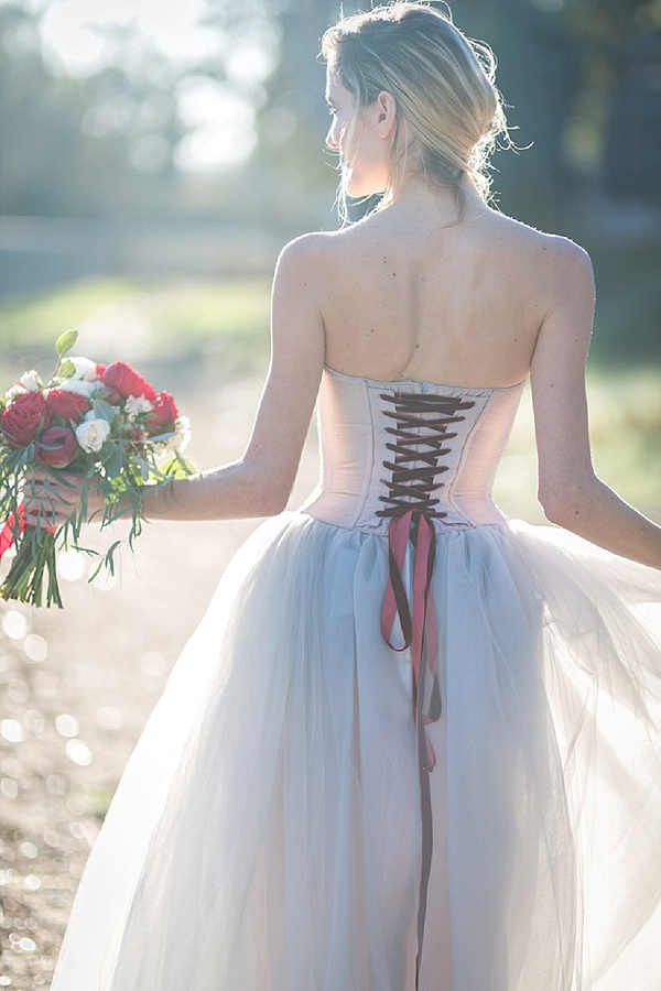 Pretty ribbons and wedding bouquets