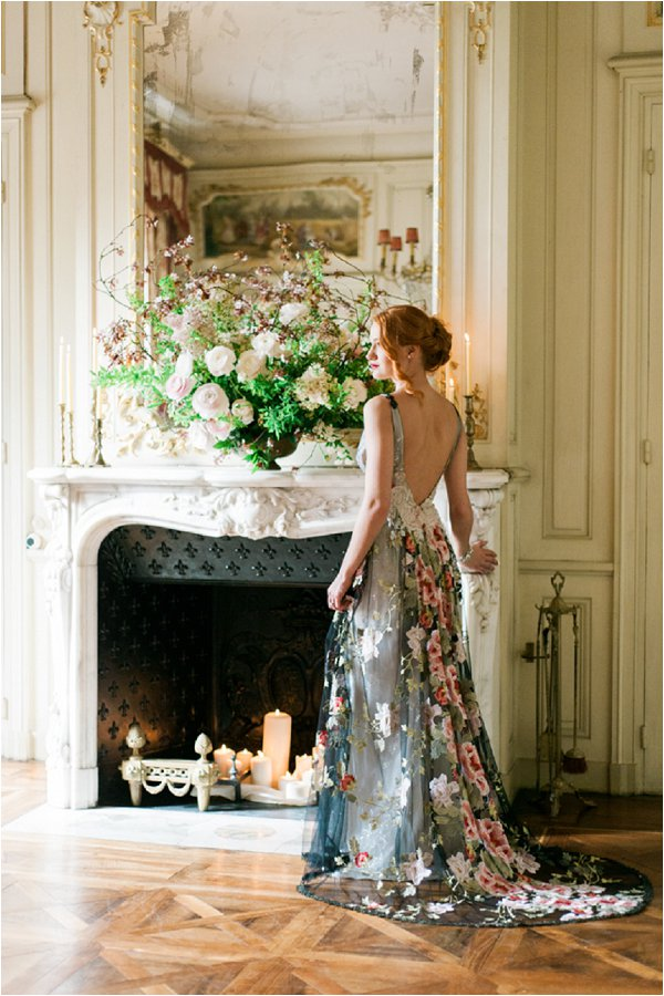 Stunning Claire Pettibone Chateau wedding dress