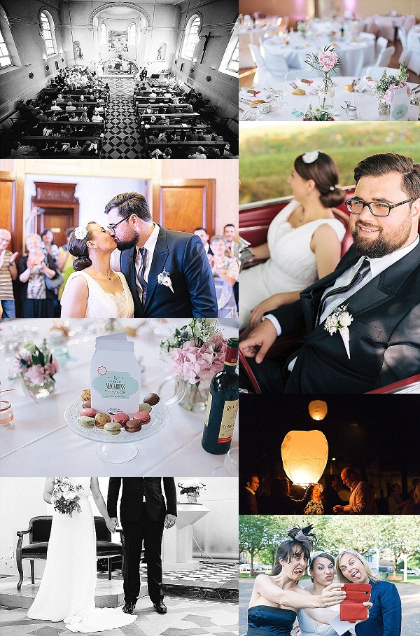 Traditional French Wedding in North East France Snapshot