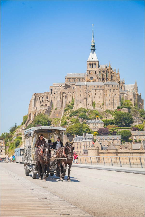 Traveling to Mont St Michel France