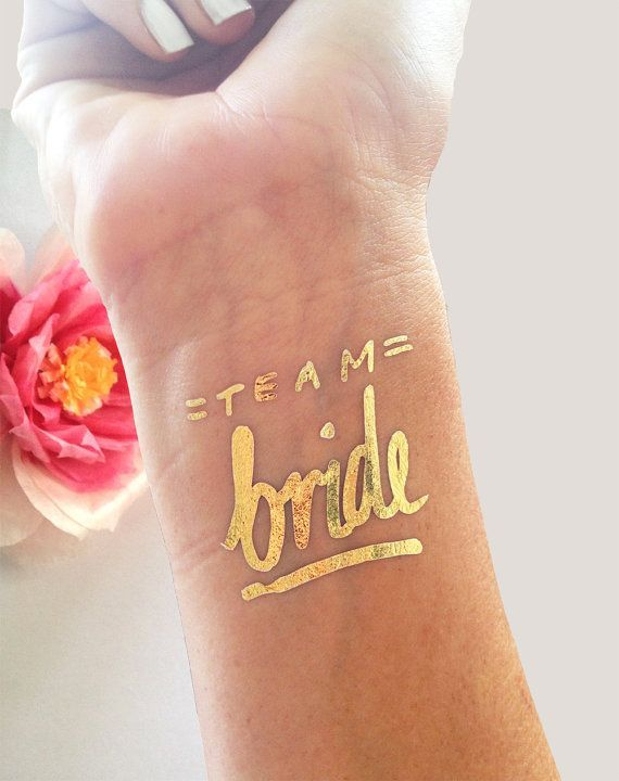 bachelorette party temp tattoo