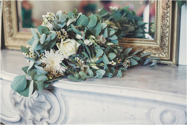 foliage inspired bouquet
