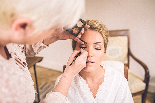 Bridal look with mac cosmetics