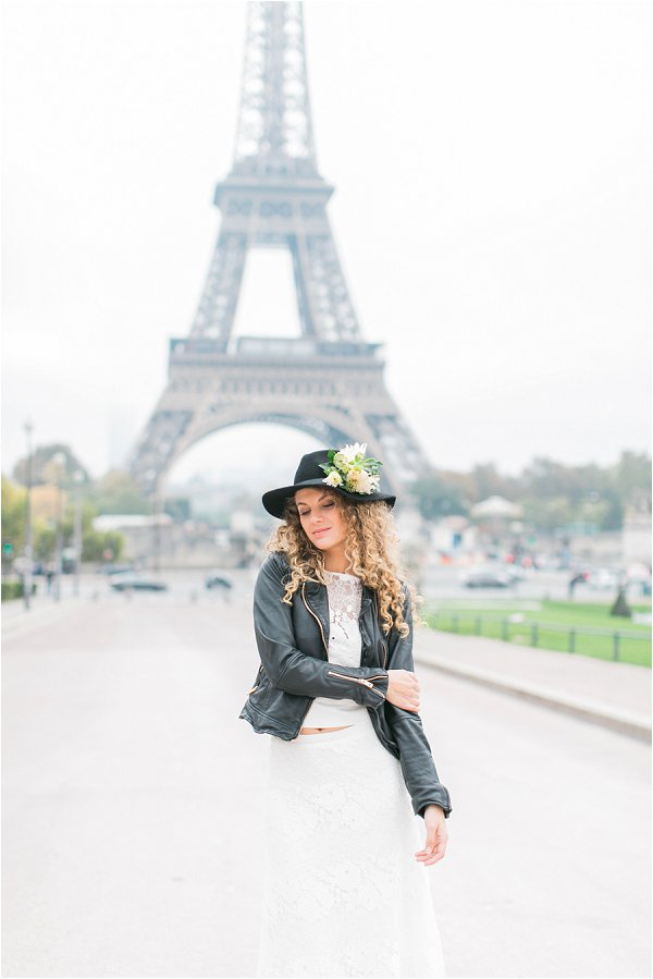 Rock n Roll bride in Paris