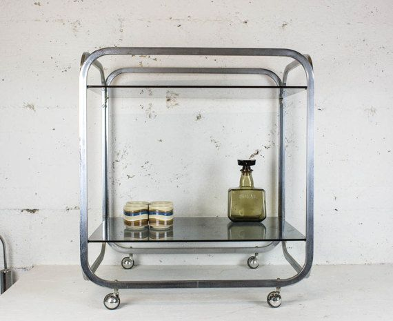 70's Two tier Bar Cart