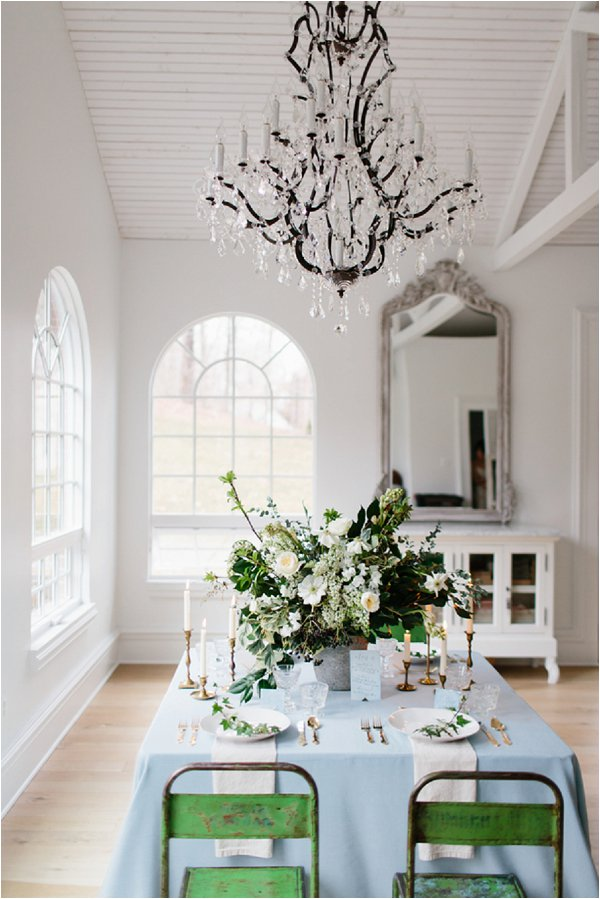 romantic sweetheart top table