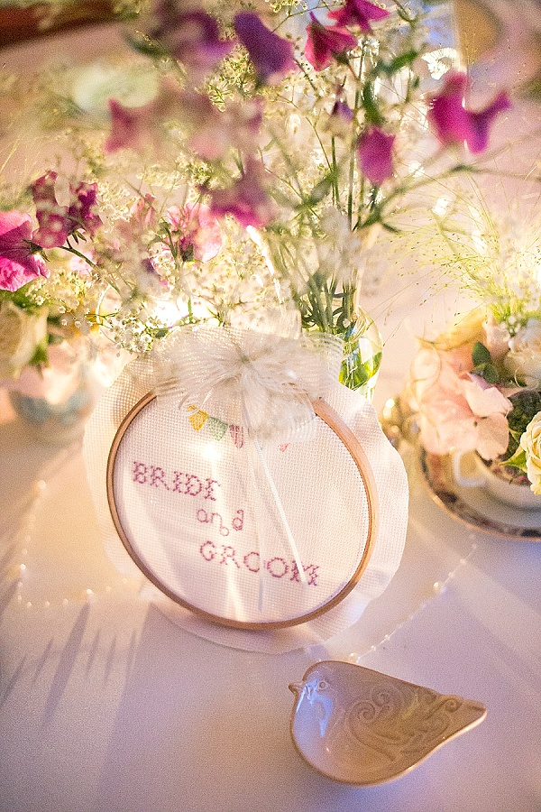 Bride and Groom Top Table