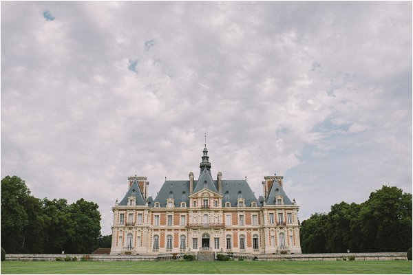 Chateau de Baronville just outside Paris