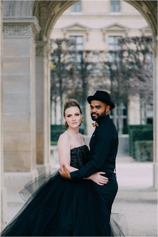 Coco Chanel Inspired Paris engagement