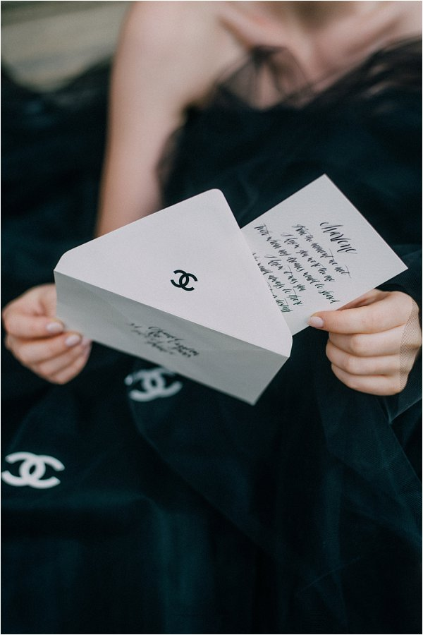 Coco Chanel Inspired wedding ideas