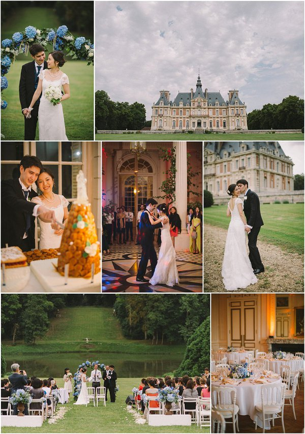 Destination Wedding at Chateau de Baronville Snapshot