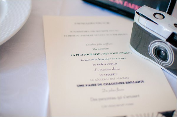 French wedding photography cameras