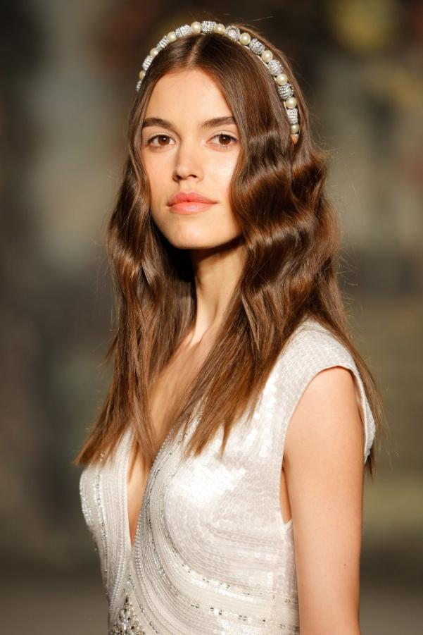 Jenny Packham showcase bridal hair