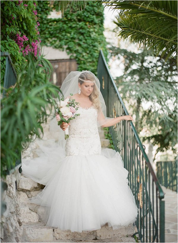 Marchesa bride in France